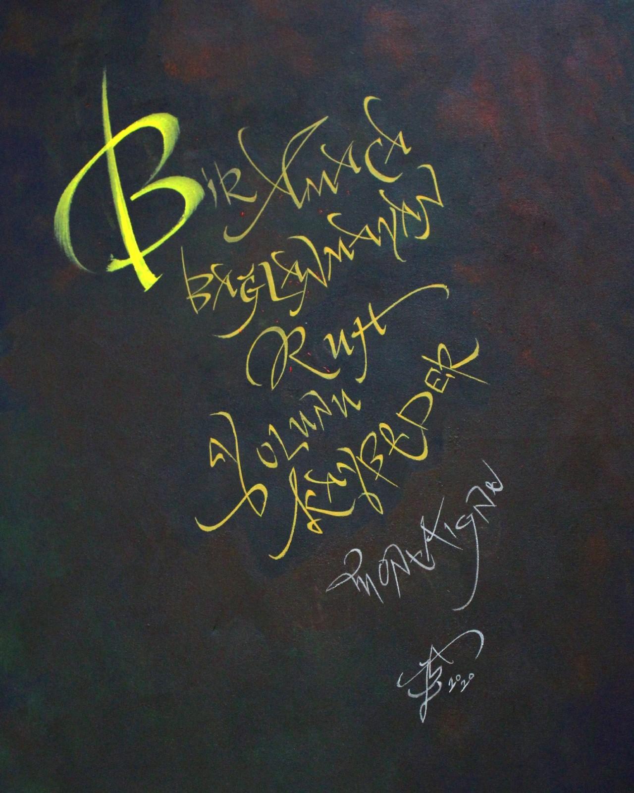 <p>'Hayatın Ruhu', Schoeller Kağıt Fırça ve Brause Uç ile Özgün Çalışma,50x70 cm, 2020.<br /><em>'Spirit of Life', Original Work with Schoeller Paper Brush and Brause Tip,50x70 cm, 2020.</em></p>
