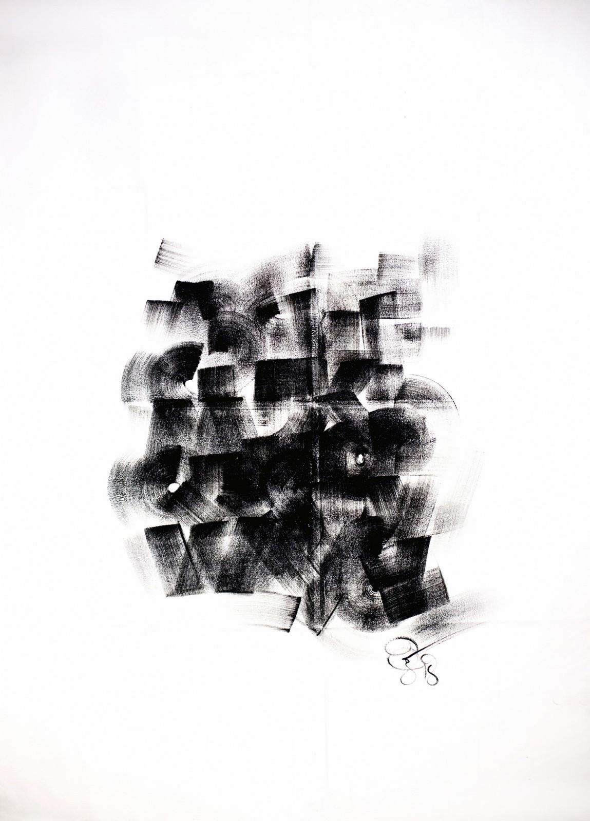 "<p>""Bruta Alfabe Bloğu: Santa Cruz de la Sierr""a, Bolivya, Tuval üzerine yağlıboya, 200 x 240 cm, 2018.<br /><em>""Bruta Alphabet Block"", Painted in Santa Cruz de la Sierra, Bolivia, Oil on canvas, Dimensions: 200 x 240 cm, 2018.</em></p><p></p>"