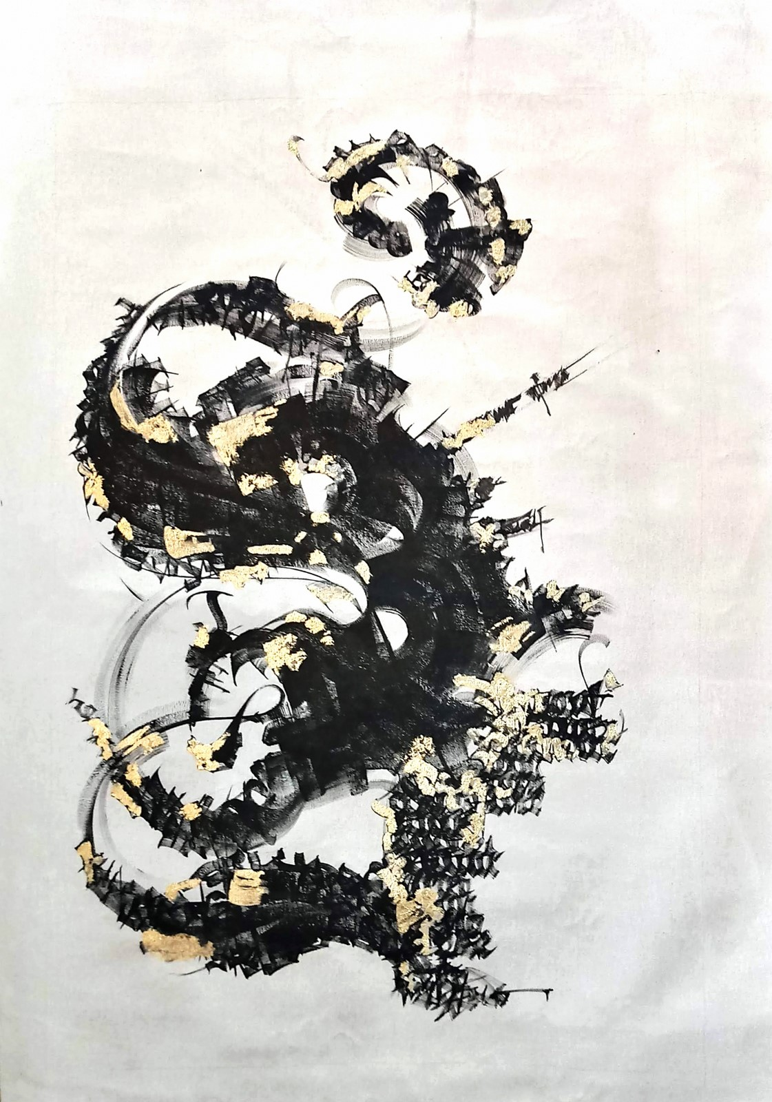 "<p>""Bruta Alfabe Bloğu: Santa Cruz de la Sierr""a, Bolivya, Tuval üzerine yağlıboya, 200 cm x 240 cm, 2018.<br /><em>""Bruta Alphabet Block"", Painted in Santa Cruz de la Sierra, Bolivia, Oil on canvas, Dimensions: 200 x 240 cm, 2018.</em></p><p></p>"